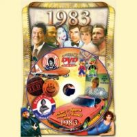 Events of 1983 DVD W/Greeting Card
