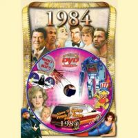 Events of 1984 DVD W/Greeting Card
