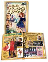1989 MiniBook: 31th Birthday or Anniversary Gift