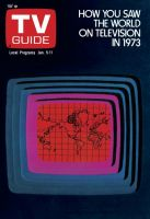 TV Guide, January 5, 1974 - How You Saw The World On Television In 1973