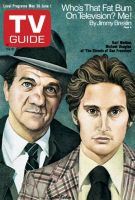 TV Guide, May 26, 1973 - Karl Malden, Michael Douglas of 'The Streets of San Francisco'