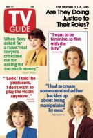 TV Guide, April 1, 1989 - The Women of L.A. Law