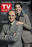 TV Guide, January 20, 1973 - Bob Newhart and Suzanne Pleshette