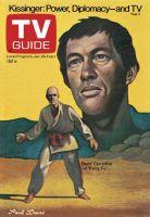 TV Guide, January 26, 1974 - David Carradine of 'Kung Fu'