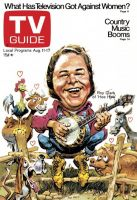 TV Guide, August 11, 1973 - Roy Clark of 'Hee Haw'