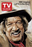 TV Guide, February 23, 1974 - Richard Boone of 'Hec Ramsey'