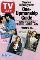 TV Guide, March 11, 1989 - Ken Olin and Mel Harris