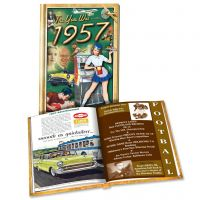 1957 MiniBook: 63nd Birthday or Anniversary Gift