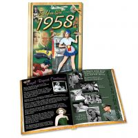 1958 MiniBook: 62th Birthday or Anniversary Gift