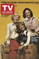 TV Guide, December 8, 1973 - Mary Tyler Moore with friends Georgia Engel,Valerie Harper