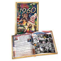 1960 MiniBook: 60th Birthday or Anniversary Gift