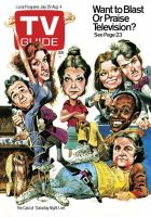 TV Guide, July 29, 1978 - The Cast of 'Saturday Night Live'