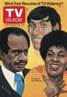 TV Guide, August 5, 1978 - The Cast of 'The Jeffersons'