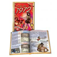 1972 MiniBook: 48th Birthday or Anniversary Gift
