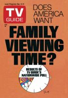 TV Guide, December 6, 1975 - Family Viewing Time?