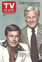TV Guide, December 13, 1975 - Robert Wagner and Eddie Albert of 'Switch'