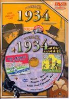 Events of 1934 DVD W/Greeting Card