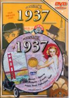 Events of 1937 DVD W/Greeting Card