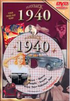 Events of 1940 DVD W/Greeting Card