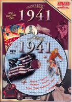 Events of 1941 DVD W/Greeting Card