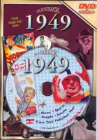 Events of 1949 DVD W/Greeting Card