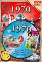 Events of 1970 DVD W/Greeting Card
