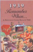 1939 Remember When Booklet