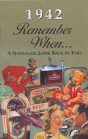 1942 Remember When Booklet