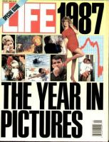 Life Magazine, January 1, 1988 - Year In Pictures
