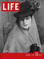 Life Magazine, January 2, 1939 - Woman wearing wimple