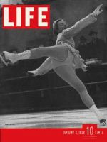 Life Magazine, January 3, 1938 - Swedish skater