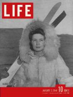 Life Magazine, January 3, 1944 - Alaska skiing holiday