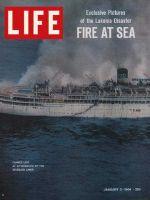 Life Magazine, January 3, 1964 - S.S. Lakonia fire at sea
