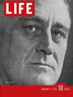 Life Magazine, January 4, 1937 - President Roosevelt