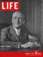 Life Magazine, January 4, 1943 - Assistant President, Jimmy Byrnes
