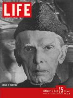 Life Magazine, January 5, 1948 - Pakistan's Jinnah