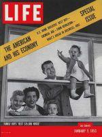 Life Magazine, January 5, 1953 - $15,000 house