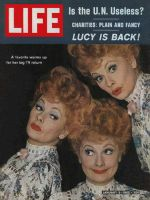 Life Magazine, January 5, 1962 - Lucille Ball, Lucy