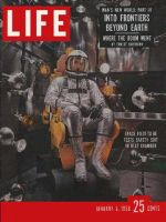 Life Magazine, January 6, 1958 - Testing for space, astronaut