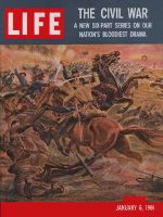 Life Magazine, January 6, 1961 - Historic battles, civil war