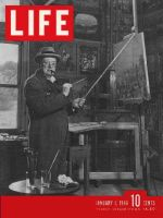 Life Magazine, January 7, 1946 - Churchill's paintings