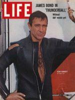 Life Magazine, January 7, 1966 - Sean Connery, James Bond