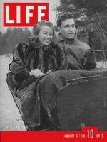 Life Magazine, January 8, 1940 - Bowdoin house party