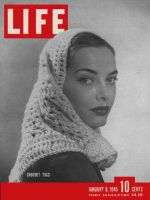Life Magazine, January 8, 1945 - Scarves in fashion