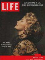 Life Magazine, January 11, 1960 - Dina Merrill