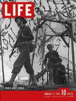 Life Magazine, January 12, 1942 - Coastal defense