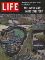 Life Magazine, January 12, 1962 - Bomb shelters