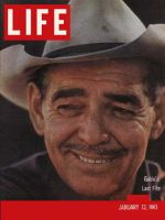 Life Magazine, January 13, 1961 - Clark Gable