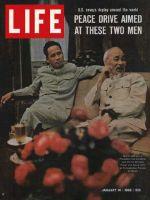 Life Magazine, January 14, 1966 - Vietnam's Ho Chi Minh and Pham Van Dong