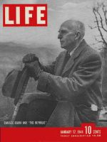 Life Magazine, January 17, 1944 - Historian Charles Beard